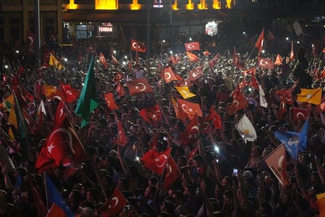Konya'da demokrasi nöbeti galerisi resim 43