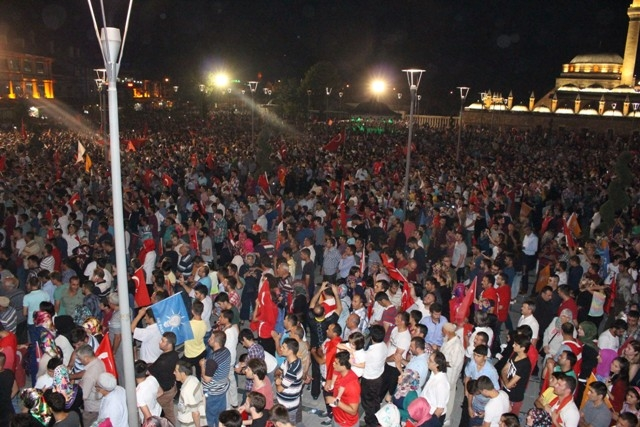 Konya'da demokrasi nöbeti galerisi resim 47