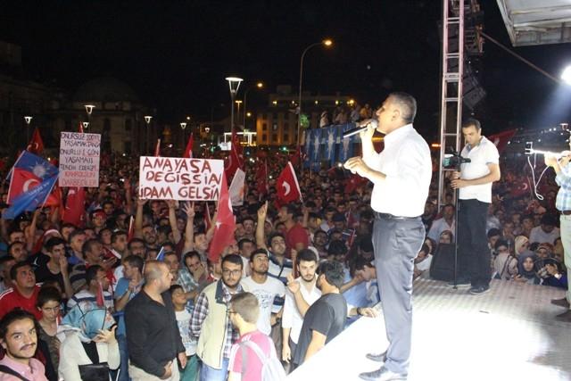 Konya'da demokrasi nöbeti galerisi resim 49