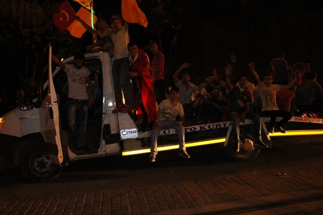 Konya'da demokrasi nöbeti galerisi resim 53