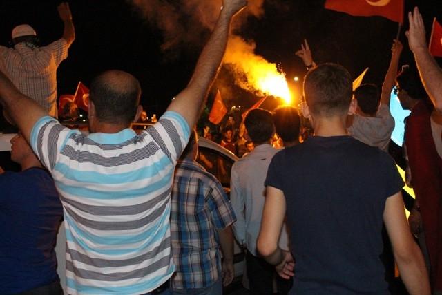Konya'da demokrasi nöbeti galerisi resim 54