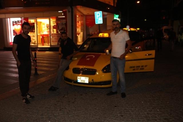 Konya'da demokrasi nöbeti galerisi resim 7
