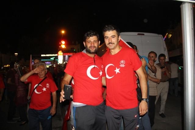 Konya'da demokrasi nöbeti galerisi resim 9