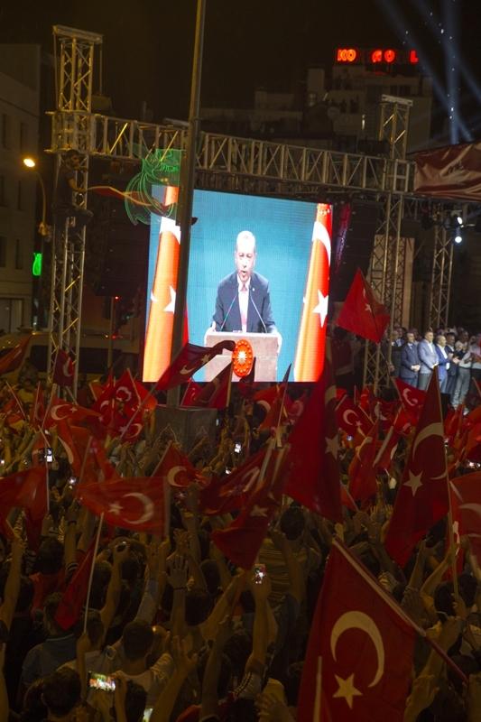 """Cumhurbaşkanı Erdoğan Konya """"demokrasi bekçileri""""ne seslendi galerisi resim 1"""