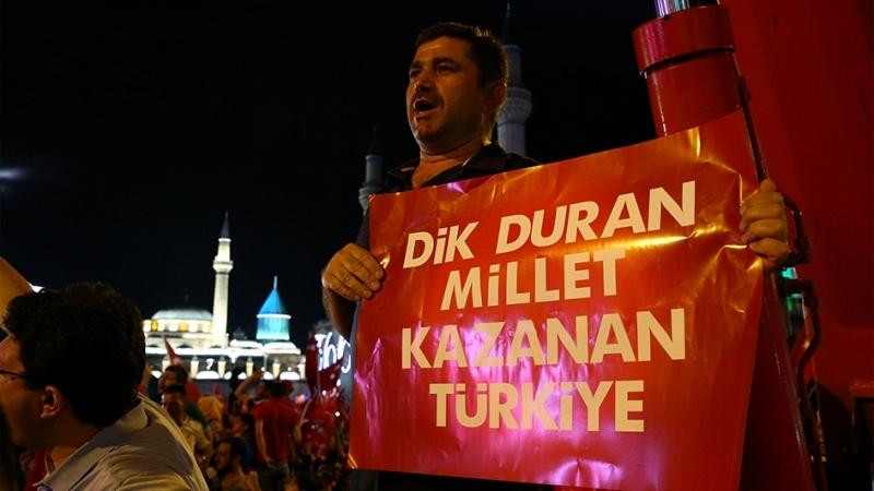 """Cumhurbaşkanı Erdoğan Konya """"demokrasi bekçileri""""ne seslendi galerisi resim 11"""