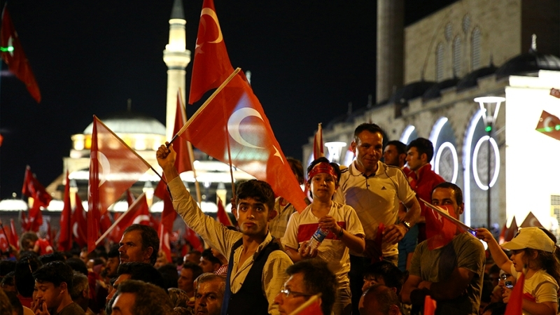 """Cumhurbaşkanı Erdoğan Konya """"demokrasi bekçileri""""ne seslendi galerisi resim 12"""