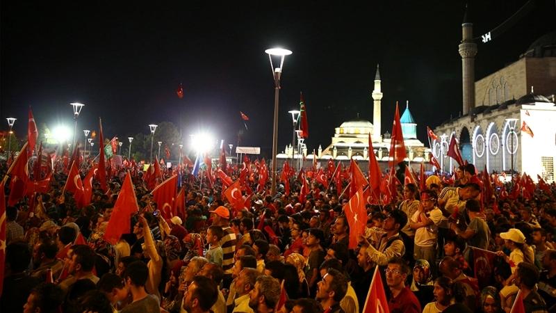 """Cumhurbaşkanı Erdoğan Konya """"demokrasi bekçileri""""ne seslendi galerisi resim 14"""