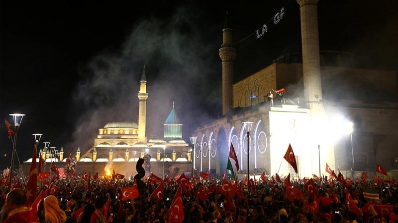 """Cumhurbaşkanı Erdoğan Konya """"demokrasi bekçileri""""ne seslendi galerisi resim 20"""