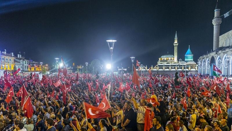 """Cumhurbaşkanı Erdoğan Konya """"demokrasi bekçileri""""ne seslendi galerisi resim 23"""