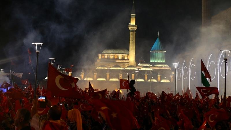 """Cumhurbaşkanı Erdoğan Konya """"demokrasi bekçileri""""ne seslendi galerisi resim 3"""