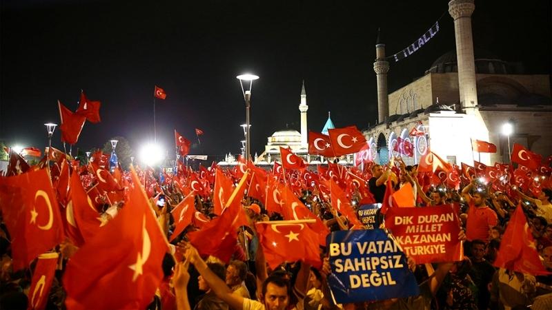 """Cumhurbaşkanı Erdoğan Konya """"demokrasi bekçileri""""ne seslendi galerisi resim 4"""