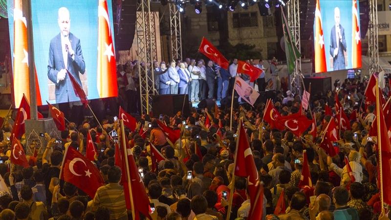 """Cumhurbaşkanı Erdoğan Konya """"demokrasi bekçileri""""ne seslendi galerisi resim 7"""