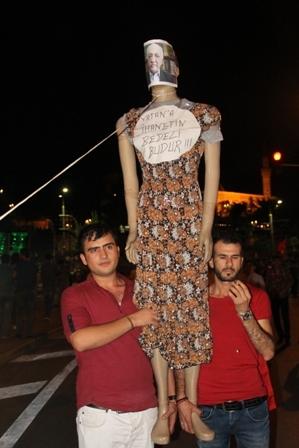 Konya'da Darbe Karşıtı Pankartlar galerisi resim 12