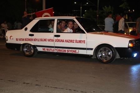 Konya'da Darbe Karşıtı Pankartlar galerisi resim 14
