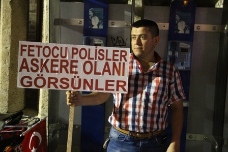 Konya'da Darbe Karşıtı Pankartlar galerisi resim 15