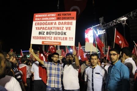 Konya'da Darbe Karşıtı Pankartlar galerisi resim 6