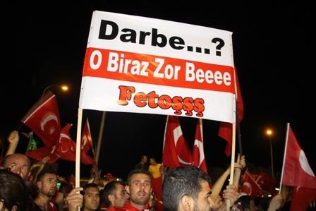 Konya'da Darbe Karşıtı Pankartlar galerisi resim 9