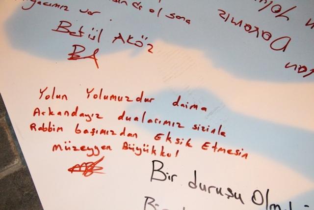 """İşte, """"İstiklalden; istikbale"""" yazıları... galerisi resim 12"""