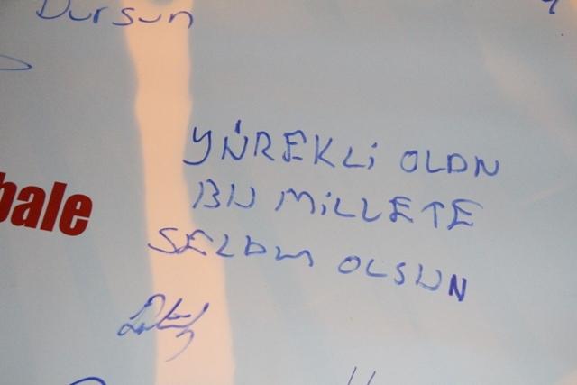 """İşte, """"İstiklalden; istikbale"""" yazıları... galerisi resim 7"""