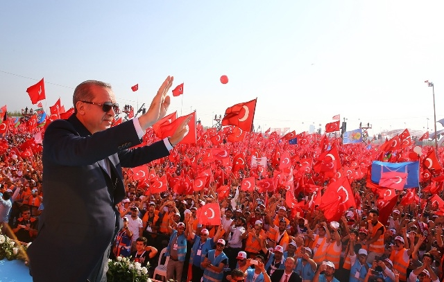 "Konya'da ""Demokrasi ve Şehitler Mitingi"" galerisi resim 3"