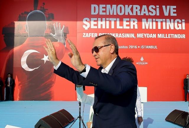 "Konya'da ""Demokrasi ve Şehitler Mitingi"" galerisi resim 4"