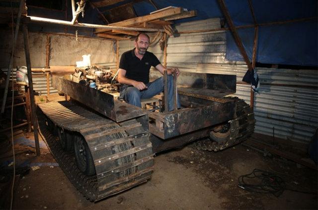 Darbecilere kızdı tank yaptı galerisi resim 11