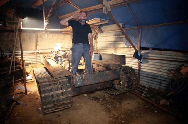 Darbecilere kızdı tank yaptı galerisi resim 6