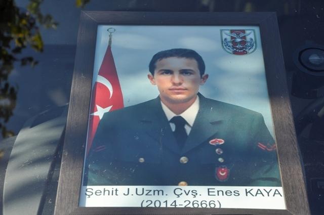 Şehit Jandarma Uzman Çavuş Enes Kaya'ya son görev galerisi resim 16