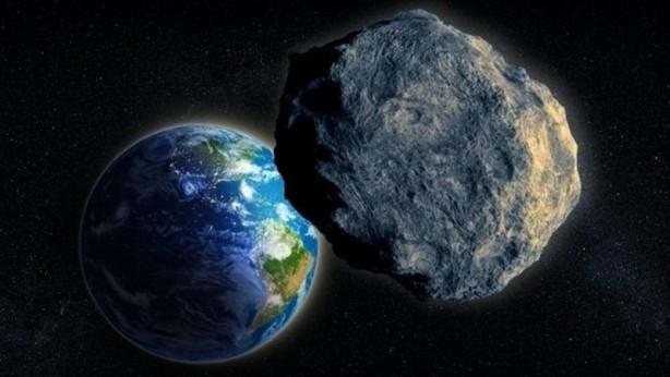 Dev meteor Dünya'ya böyle çarptı! galerisi resim 1