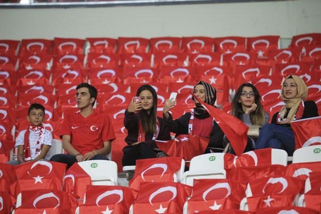 Konya'da milli heyecan galerisi resim 28
