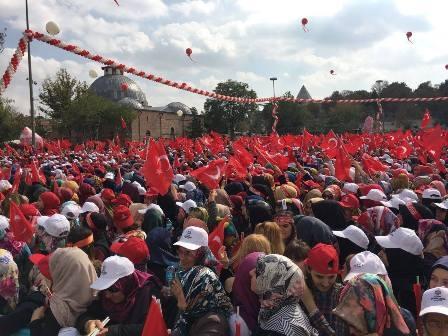 Konya'dan Erdoğan'a sevgi seli galerisi resim 1