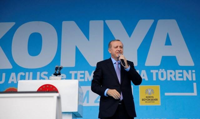 Konya'dan Erdoğan'a sevgi seli galerisi resim 118