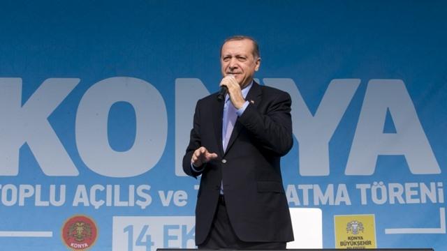 Konya'dan Erdoğan'a sevgi seli galerisi resim 126