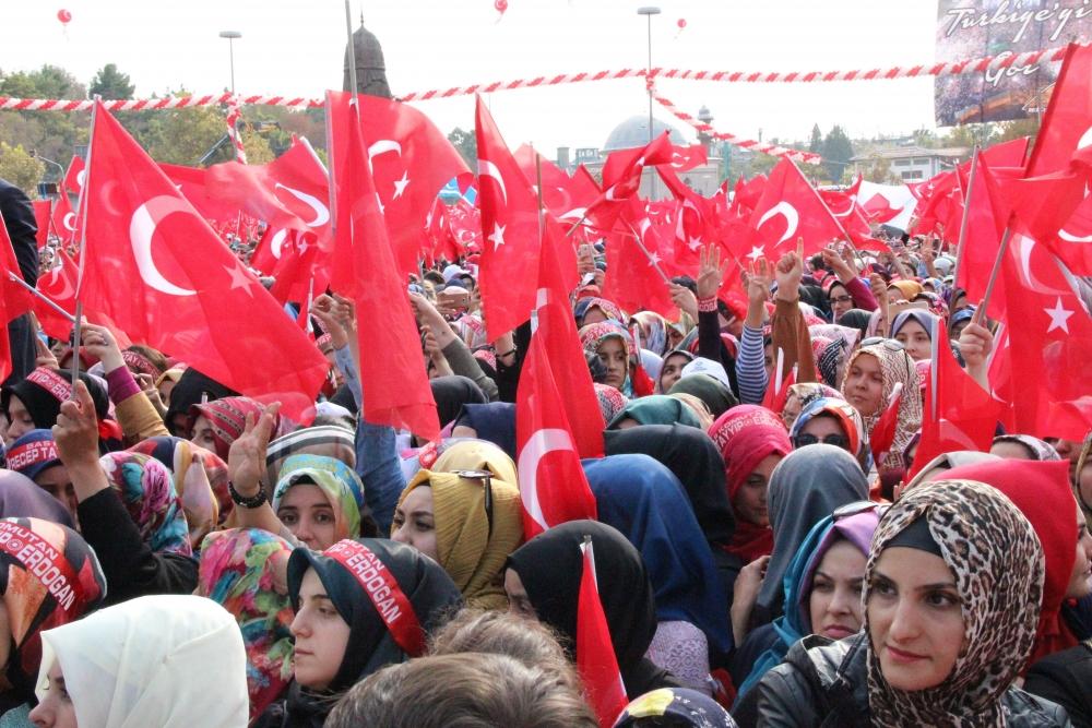 Konya'dan Erdoğan'a sevgi seli galerisi resim 145