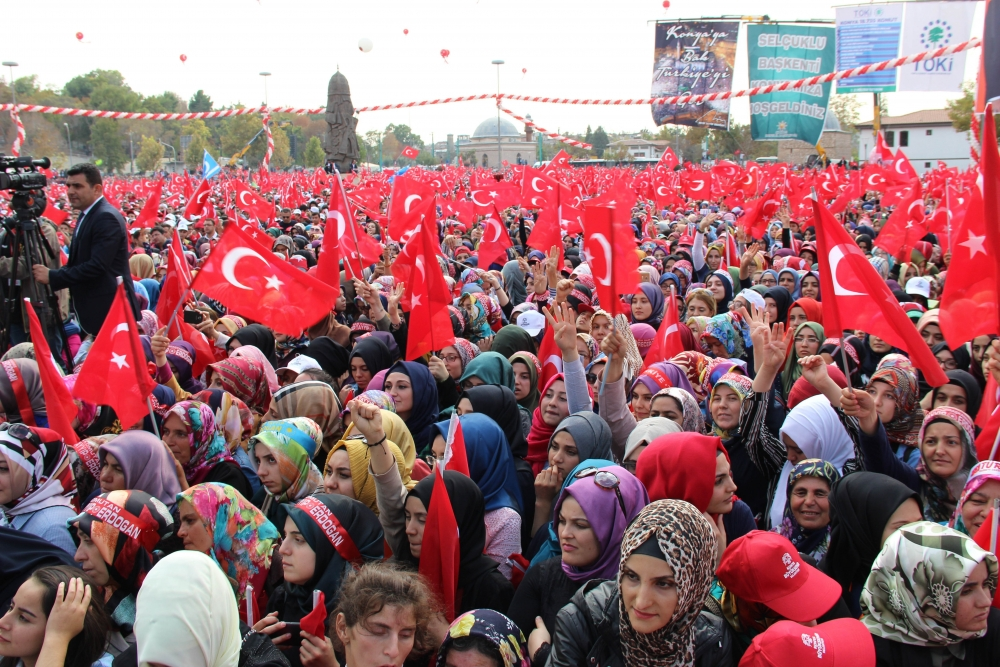 Konya'dan Erdoğan'a sevgi seli galerisi resim 146