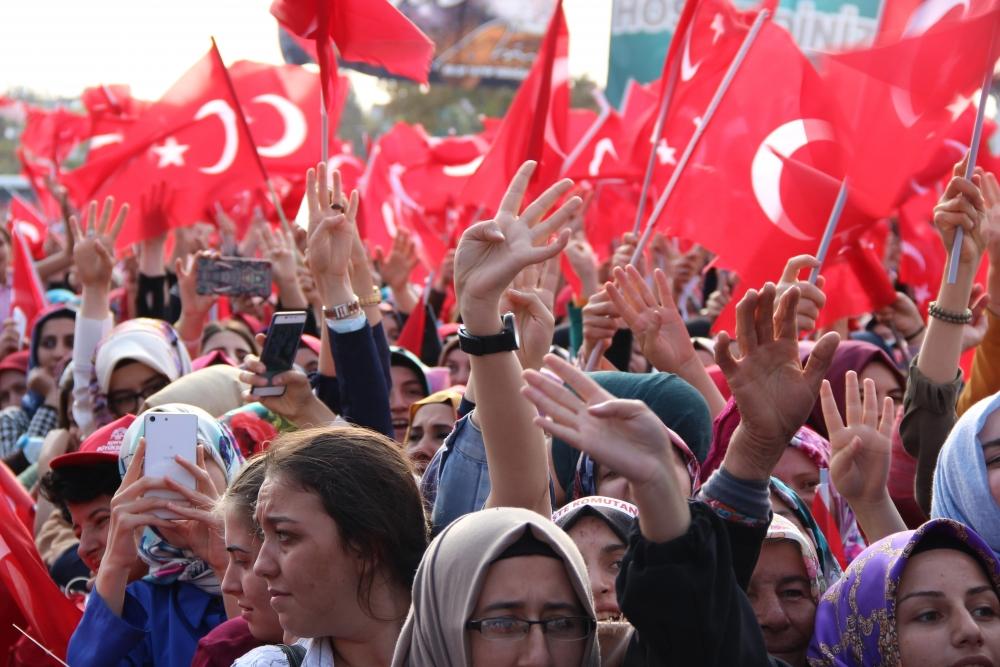 Konya'dan Erdoğan'a sevgi seli galerisi resim 148