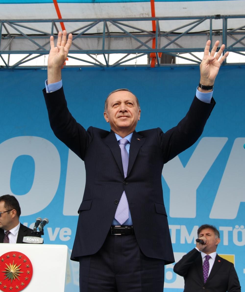 Konya'dan Erdoğan'a sevgi seli galerisi resim 149