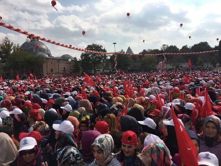 Konya'dan Erdoğan'a sevgi seli galerisi resim 4