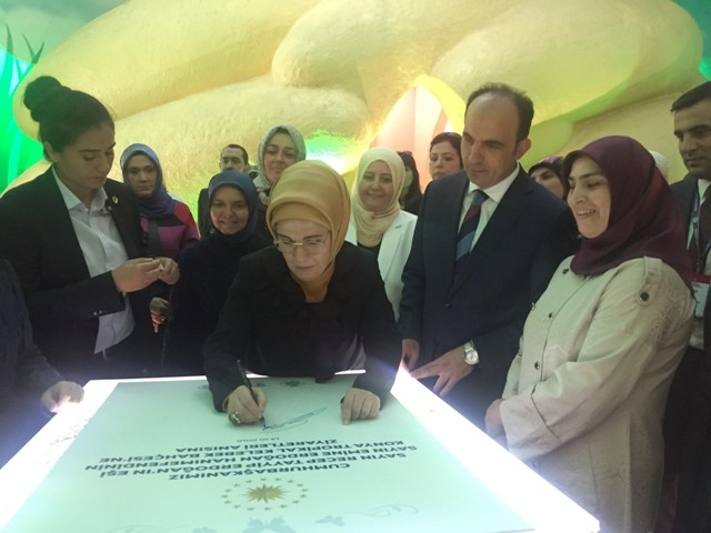 Konya'dan Erdoğan'a sevgi seli galerisi resim 61