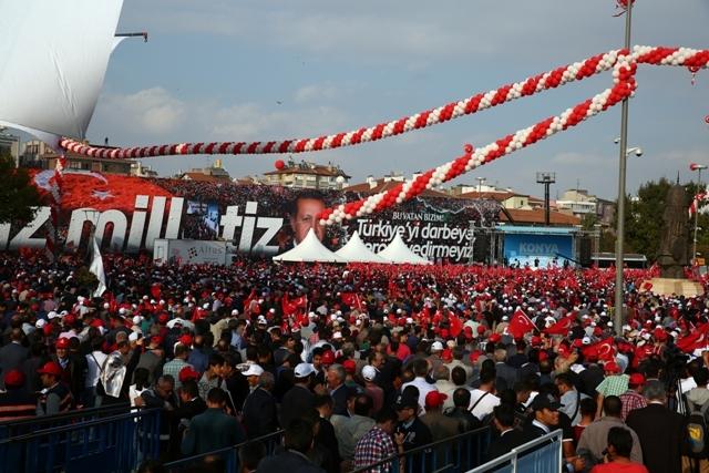 Konya'dan Erdoğan'a sevgi seli galerisi resim 72