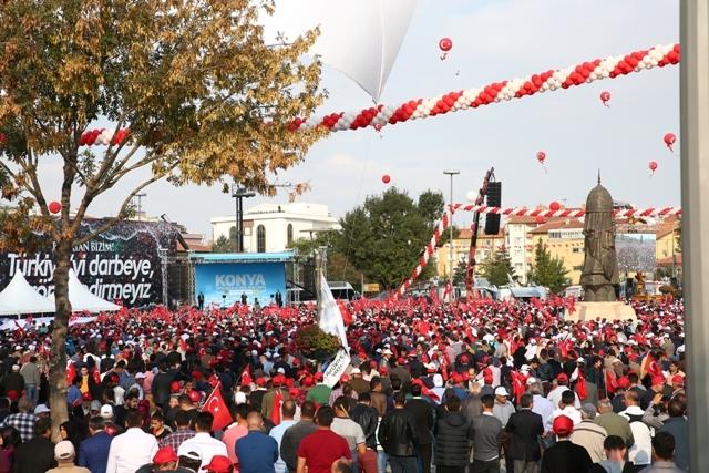 Konya'dan Erdoğan'a sevgi seli galerisi resim 75