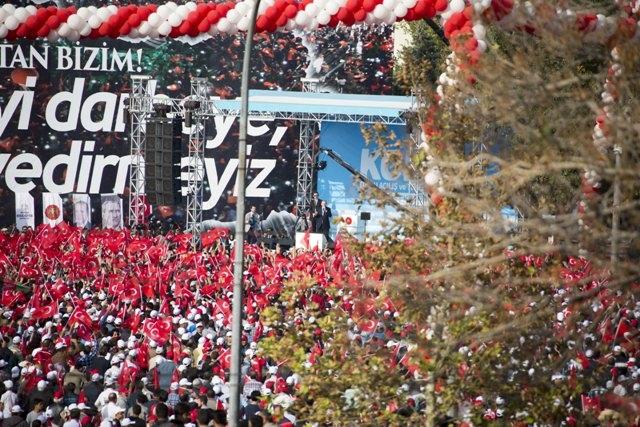 Konya'dan Erdoğan'a sevgi seli galerisi resim 77