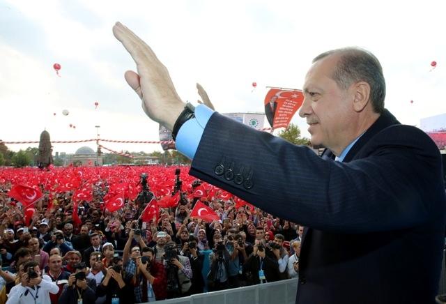 Konya'dan Erdoğan'a sevgi seli galerisi resim 80