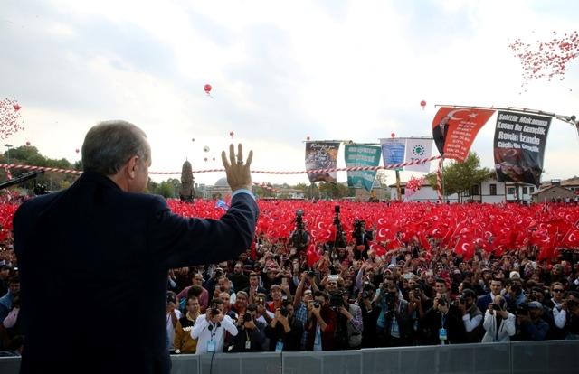 Konya'dan Erdoğan'a sevgi seli galerisi resim 81