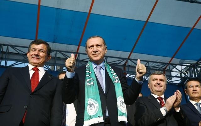 Konya'dan Erdoğan'a sevgi seli galerisi resim 89