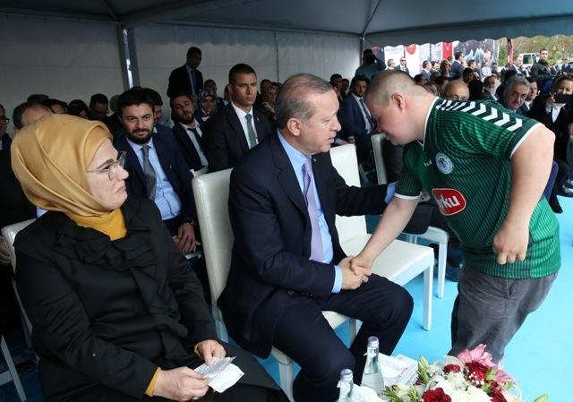 Konya'dan Erdoğan'a sevgi seli galerisi resim 96