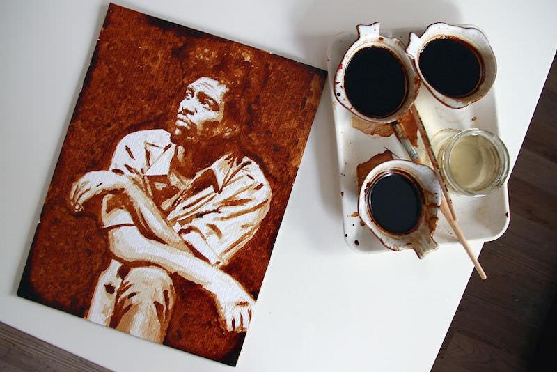 Kahveden yapıldı galerisi resim 1