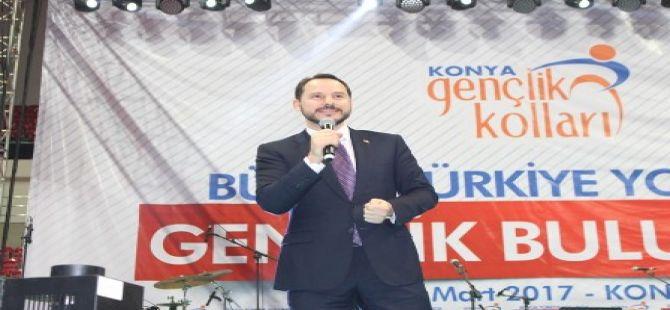 Enerji ve Tabii Kaynaklar Bakanı Albayrak Konya'da