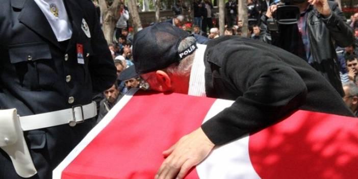 Şehit polis Azam Güdendede son yolculuğuna uğurlandı