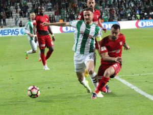 Atiker Konyaspor:1- Gaziantepspor:1